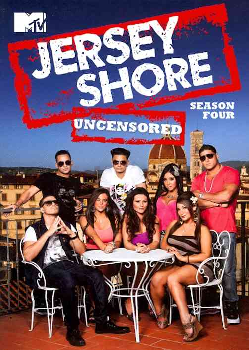 JERSEY SHORE:SEASON FOUR BY JERSEY SHORE (DVD)